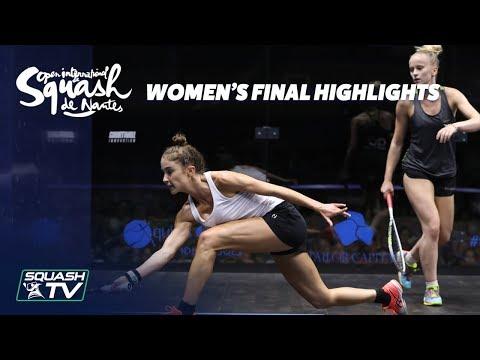 Squash: Women's Final Roundup - Squash de Nantes 2018