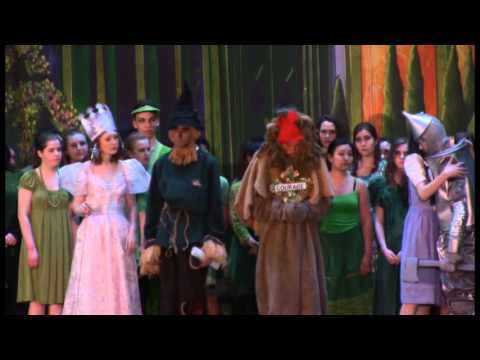 Kayla Paige Fuhst Carmel High School Wizard of Oz 4/2/16 Part 4 (видео)