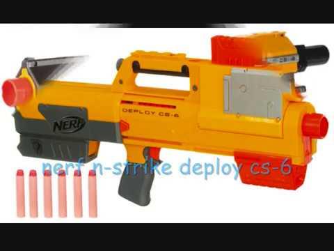 every NERF N-strike gun