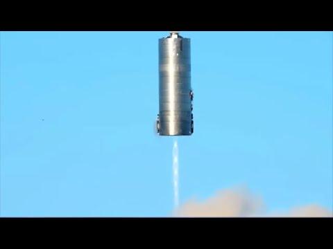 Прыжок Starship на 150 метров