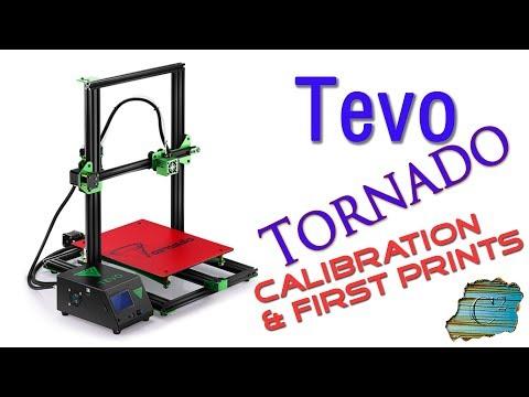 Tevo Tornado 3D Printer - Calibration & First Prints