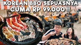 CUMA 99 RIBU MAKAN DAGING KOREAN BBQ SEPUASNYA !!