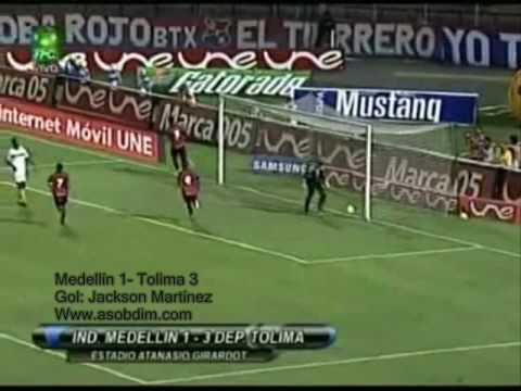 Goles de Jackson en la Copa Mustang II-2009