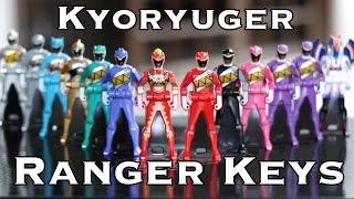 Kyoryuger Ranger Keys [UNBOXING]