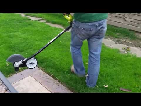 Ryobi Expand-It Edger Cordless Attachment Review (видео)