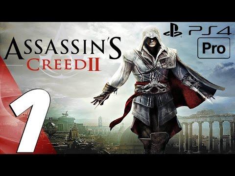 Assassin's Creed 2 Remastered - Gameplay Walkthrough Part 1 - Prologue (PS4 PRO)