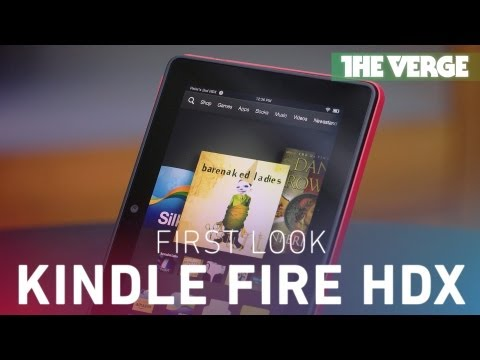 A hands-on look at Amazon's Kindle Fire HDX with Mayday customer support