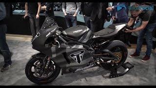 10. New Triumph bikes in 2019   James Toseland on Moto2 + Bonneville T120 Ace & Diamond