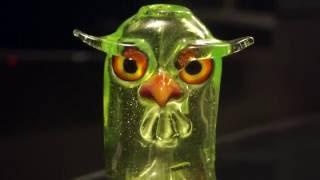 Shack Man Glass Owl Dab Rig by Pot TV