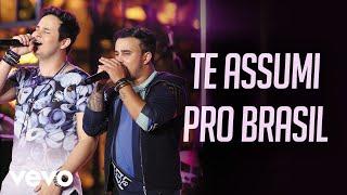"""A música """"Te Assumi Pro Brasil"""" está no CD/DVD """"Na Praia 2"""" do Matheus & Kauan. Clique e ouça:..."""