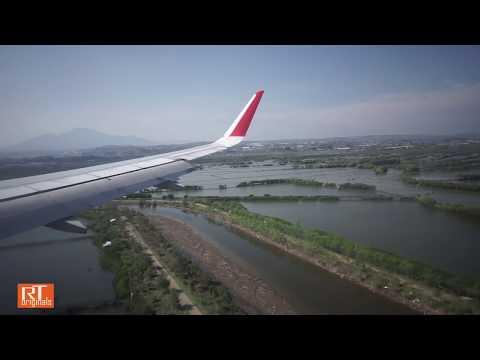 Takeoff, Cruise, Landing of Air Asia Flight AK328 | KUL-SRG | 22Nov2015 730AM
