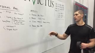 Crossfit Open 17.4 Movement Prep Tips