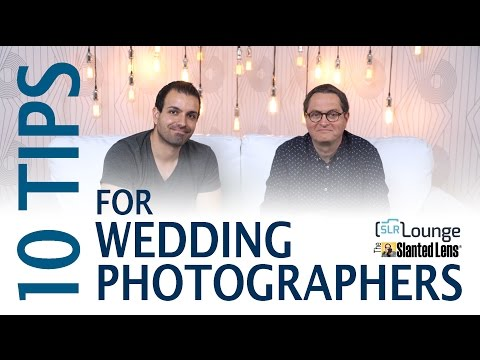Ten Tips for Wedding Photography with SLR Lounge (видео)