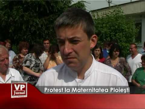 Protest la maternitate