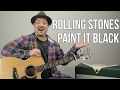 "Download Lagu How to Play ""Paint it Black"" by The Rolling Stones on Guitar Mp3 Free"