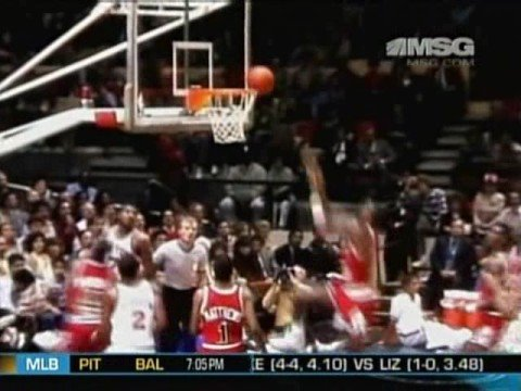 Michael Jordan Madison Square Garden Debut 1984 - 33pts