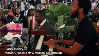 """Video Cory Henry's solo Tribute to Melvin Crispell """"Wonderful is your name"""" MP3, 3GP, MP4, WEBM, AVI, FLV Agustus 2018"""