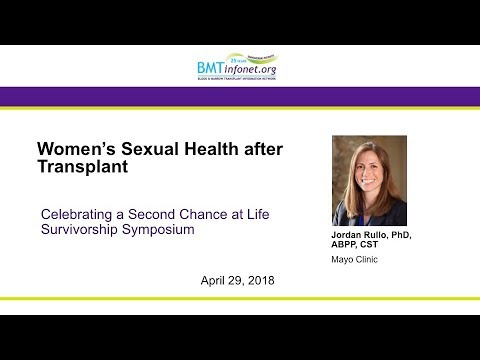 Womens Sexual Health After Transplant