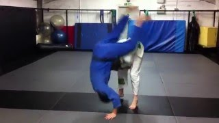 Judo throws ippon seoi nage