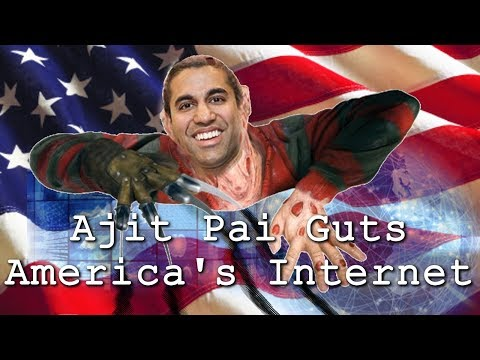 Ajit Pai is Gutting America's Internet - Weekly News Roundup