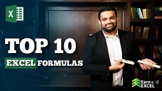 Video Learn The 10 BEST Excel Formulas (For Professionals in 2019) | EXCEL FORMULAS | Excel Functions MP3, 3GP, MP4, WEBM, AVI, FLV Maret 2019