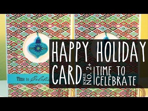 Happy Holidays Card Series #2 Bonus