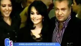 Angelique Boyer acepta estar enamorada de Güero Castro