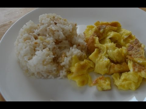 Lutong Pinoy - http://www.filipino-recipes-lutong-pinoy.com - Visit our website for your free recipe! Cooking Ingredients 1 big bowl of cooked rice 1 big clove of garlic (crushed) Salt and Pepper to...
