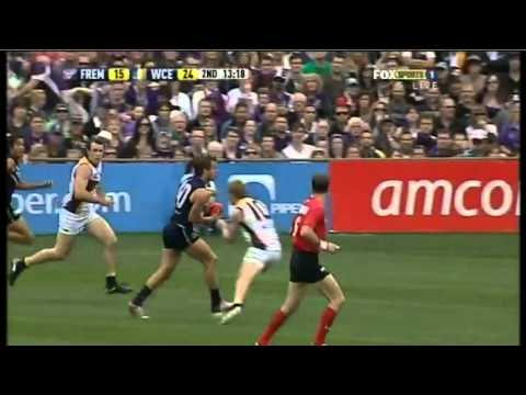 AFL 2011 &#8211; Round 18 &#8211; Fremantle vs. West Coast &#8211; Game Highlights
