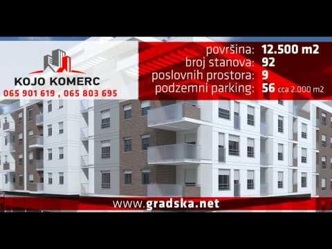 Kojo Komerc Modriča - Prodaja stanova - Objekat GRADSKA