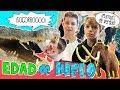 😮 MAMUTS GIGANTES en la EDAD de HIELO 💦 Dinosaurios y ANIMALES prehistóricos * Arte y Ciencia