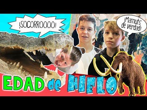 MAMUTS GIGANTES en la EDAD de HIELO  Dinosaurios y ANIMALES prehistóricos * Arte y Ciencia