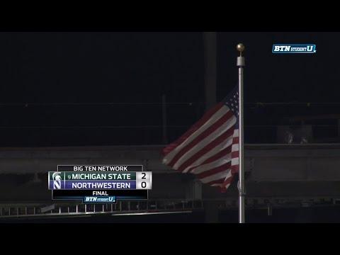 Michigan State Beats Northwestern - Men's Soccer Wrap-Up