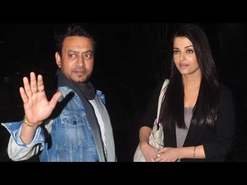 Spotted: Aishwarya Rai Bachchan And Irrfan Khan Go