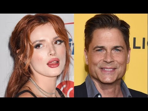 Bella Thorne Is 'So Embarra ssed' After Rob Lowe Called Her Out For Clueless Mudslides