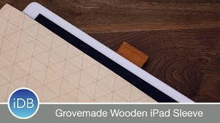 Protect your iPad with a premium wooden sleeve from Grovemade. Crafted from walnut/maple, leather, German wool, and brass.https://grovemade.com/product/maple-sleeve/?initial=56~~Visit us at iDownloadBlog.com for more Apple news and videos!Download the free iDB app for the latest news! https://goo.gl/bY6OvS~~#Social:http://www.twitter.com/iDownloadBloghttp://www.facebook.com/iDownloadBloghttp://www.twitter.com/Andrew_OSU