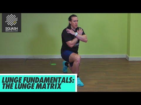 Squash Tips: Lunge Matrix   Lunge Fundamentals with Gary Nisbet