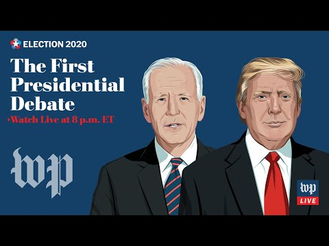 First 2020 presidential debate between Trump and Biden in Cleveland - 9/29 (FULL LIVE STREAM)