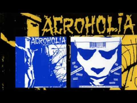 """ACROHOLIA 10 Songs From Split 7"""" w. Intestinal Disease (recorded July 1992)"""