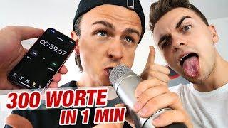 Video 300 WORTE in 1 MINUTE rappen! (Rezo, Willboy, Danergy | CHALLENGE) MP3, 3GP, MP4, WEBM, AVI, FLV Mei 2018