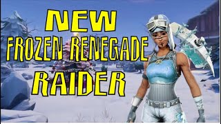 Streamers React to NEW FROZEN RENEGADE RAIDER In Fortnite! Fortnite Moments 720p