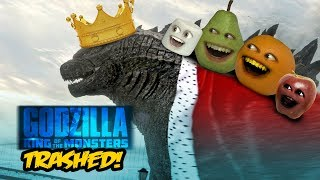 Annoying Orange   Godzilla  King Of The Monsters Trailer Trashed