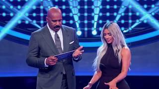 Video Kim Kardashian West's Fast Money Round - Celebrity Family Feud MP3, 3GP, MP4, WEBM, AVI, FLV Juni 2018