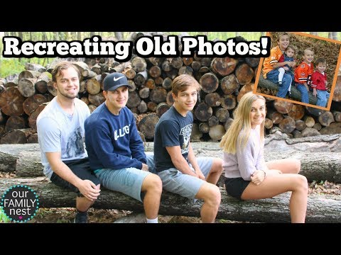 RECREATING OLD PHOTOS & UGLY LOCATION PHOTOSHOOT ON MOTHERS DAY!