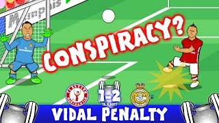 Ronaldo may have scored 100 goals, but the BIG story was Vidal's horrific penalty. Honest miss or Champions League Conspiracy?!⚽️Subscribe to 442oons: http:/...