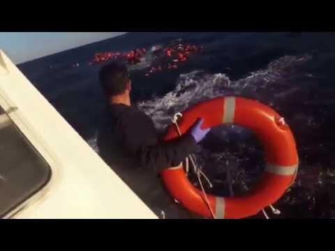 Λέσβος: Οπτικό υλικό από επιχείρηση διάσωσης αλλοδαπών προσφύγων