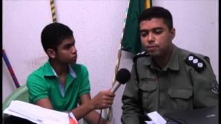 Entrevista com o comandante da cidade de Brejo Santo-CE, Tema: Vocação e Realização Pessoal.