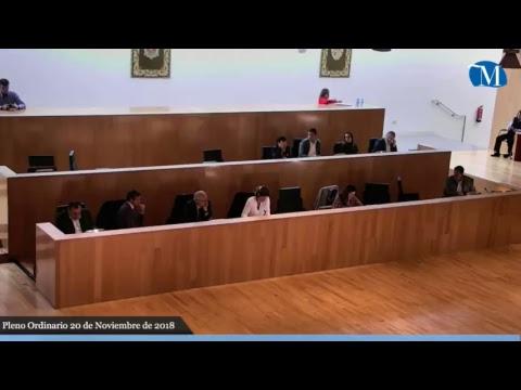 Pleno ordinario de la Diputación correspondiente al mes de noviembre