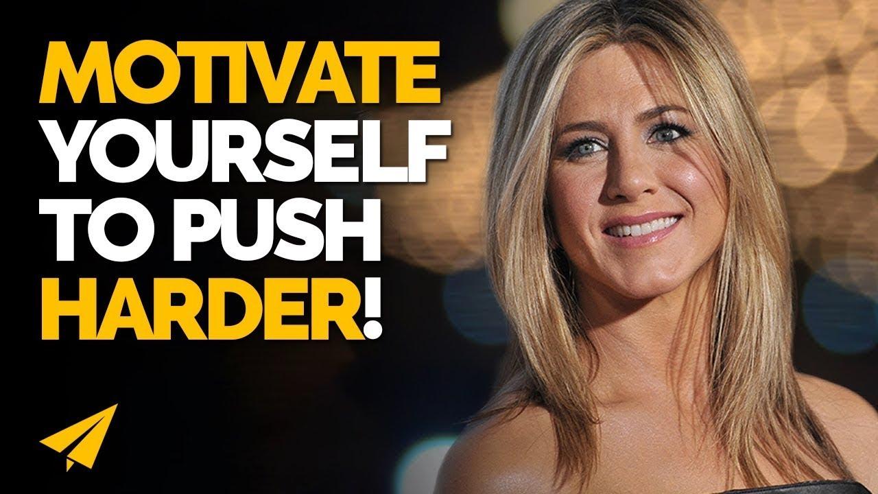 PUSH More - Jennifer Aniston - #Entspresso