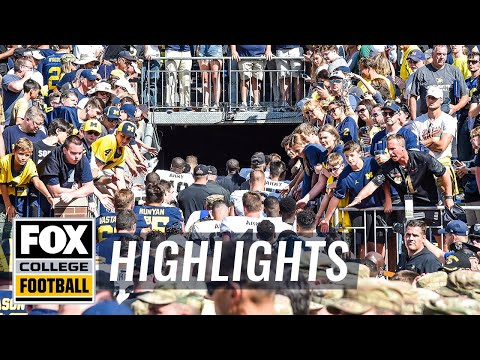 Video: Michigan survives 2OT vs Army on strip-sack | 60 IN 60 | FOX COLLEGE FOOTBALL HIGHLIGHTS